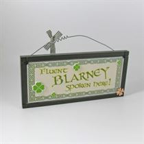 Fluent Blarney - Irish Plaque