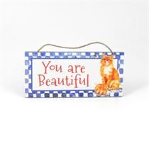 You Are Beautiful - Mini Magnetic Plaque
