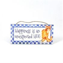 Happiness Hug - Mini Magnetic Plaque