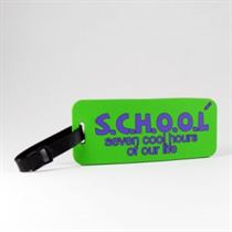 S.C.H.O.O.L. - School Tags (Pack Of 2)