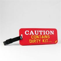 Caution - School Tags (Pack Of 2)