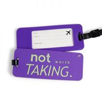 Not Worth Taking - Luggage Tags (Pack Of 2)