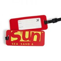 Sun, Sea and Sand - Luggage Tags (Pack Of 2)