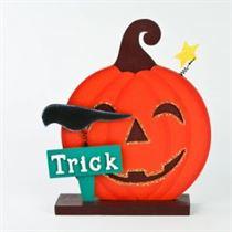 Trick Pumpkin Stand - Halloween Stand