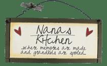 Nana's Kitchen - Sweet Sentiments Plaque