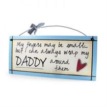 Fingers May Be Small - Sweet Sentiments Plaque