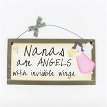 Nanas are Angels - Sweet Sentiments Plaque