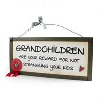Grandchildren Are Your Reward - Sweet Sentiments Plaque