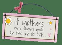 Flowers Mother - Sweet Sentiments Plaque