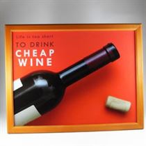 Cheap Wine - Padded Lap Tray