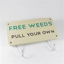 Free Weeds - Garden Hanger