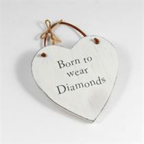 Diamonds - Heart Hangers