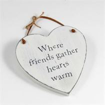 Friends Gather - Heart Hangers