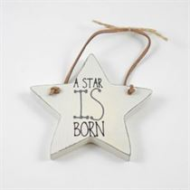 A Star Is Born - Star Wooden Hanger