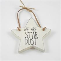 We Are Star Dust - Star Wooden Hanger