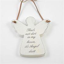 That's Not Dirt - Angel Wooden Hanger