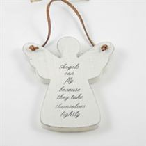 Angels Can Fly - Angel Wooden Hanger
