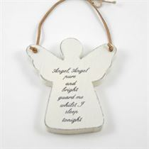 Angel Pure and Bright - Angel Wooden Hanger