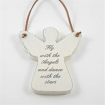 Fly With The Angels - Angel Wooden Hanger