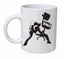 Banksy - Bombed Out Punk Mug