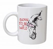 Banksy - Born To Be Wild Mug