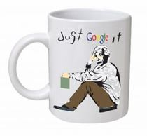 Banksy - Just Google It Mug