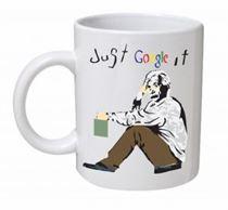 Banksy - Just Google It Mug