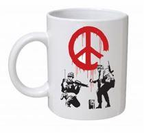 Banksy - CND Soldiers Mug