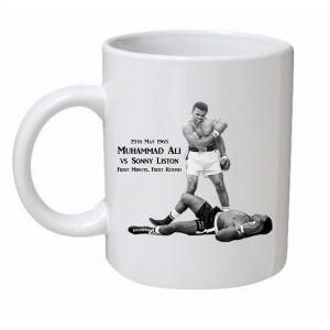 Muhammad Ali VS Sonny Liston Mug