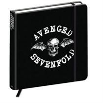 Avenged Sevenfold Notebook: Death Bat Crest (Hard Back) - Official Licensed Merchandise