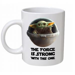 Baby Yoda The Force Is Strong Mug
