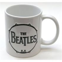 Beatles Drum & Apple Sculptured Ceramic Boxed Mug - Music and Media