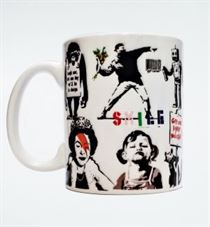 Banksy Street Art Collection Mug