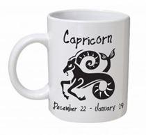 Capricorn Monochrome Mug