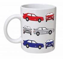 Audi Quattro Classic Car Mug