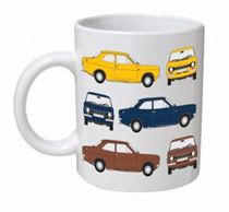 Ford Escort MK1 Classic Car Mug