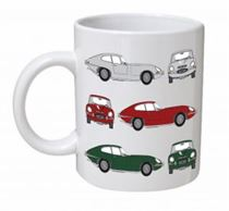 Jaguar E Type Classic Car Mug