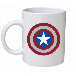Captain America Shield Mug