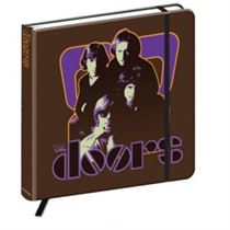 The Doors Notebook: 70's Panel (Hard Back) - Official Licensed Merchandise