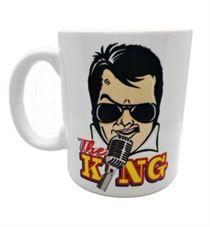 Elvis The King Mug