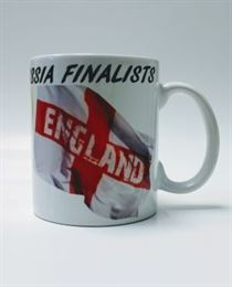 England 2018 Russia Finalists World Cup Mug