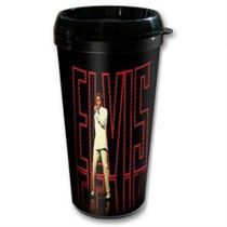 Elvis in Lights Travel mug - Music and Media