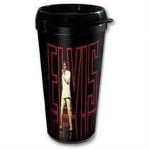 Elvis in Lights Travel mug - Music and Media
