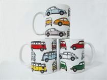 Iconic German Classics - Classic Car Mug Bundle No1