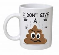 I Don't Give A S**t Emoji Mug