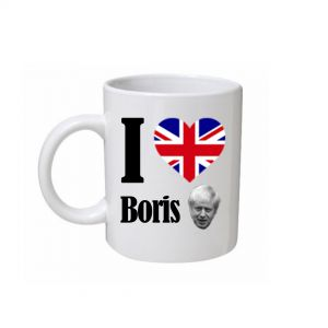 I Love Boris Mug