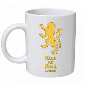 Hear Me Roar Lannister Game Of Thrones Mug