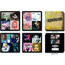 Madonna Coasters: 4 Piece Coaster Set in Presentation box - Music and Media