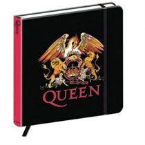Queen Notebook: Crest (Hard Back) - Music and Media