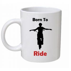 Born To Ride Biking Mug
